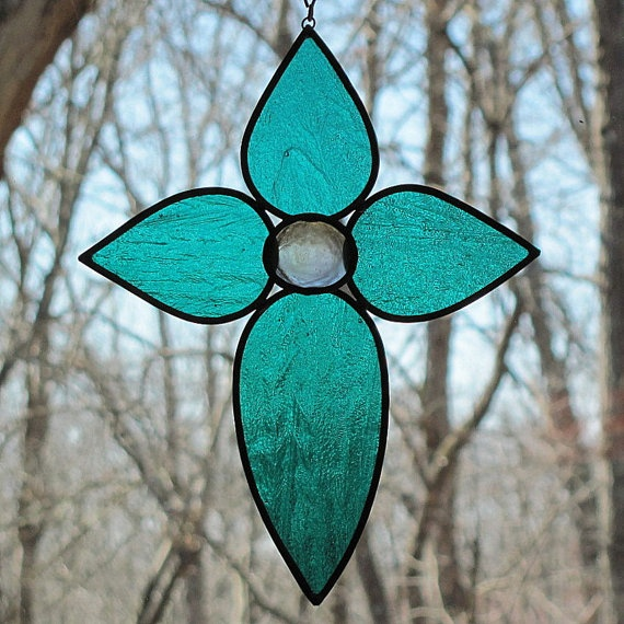 Stained glass from Etsy