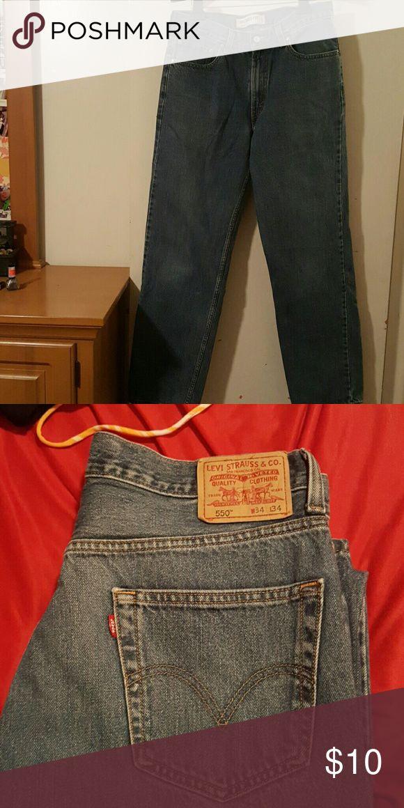 Men's Levi Jeans Men's Levi Jeans....Size 34X34.... 100% Cotton Levi's Jeans Straight