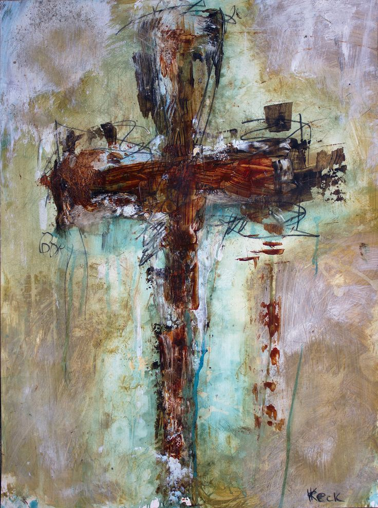25 b sta cross art id erna p pinterest jutehantverk for Cross paintings on canvas