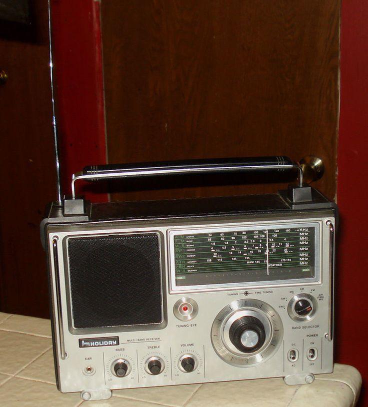 Holiday World Ranger Multi-Band AM FM SW AIR MB Receiver Portable Radio