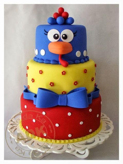 Festa Galinha Pintadinha - bolo