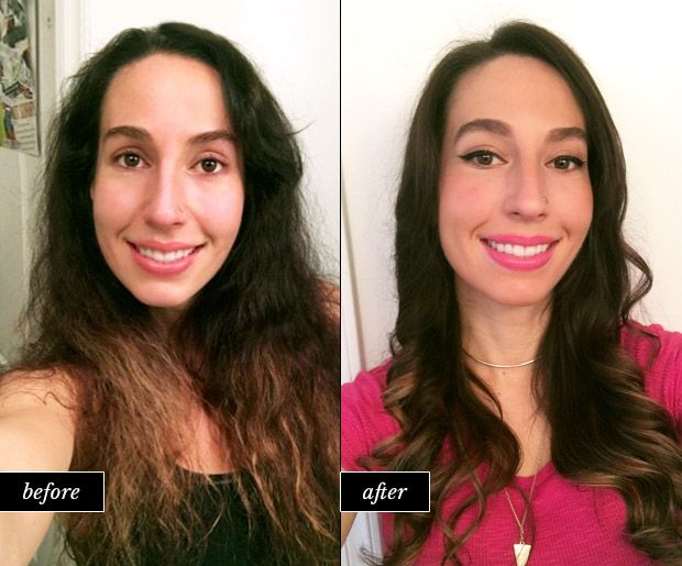 I Tried an At-Home Brazilian Hair Treatment. Here's What Happened