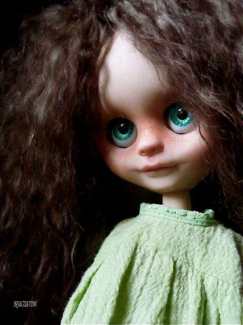 Reserved Listing for Chris  -  Ooak Custom Blyh / Blythe Art Doll Pema by Iriscustom