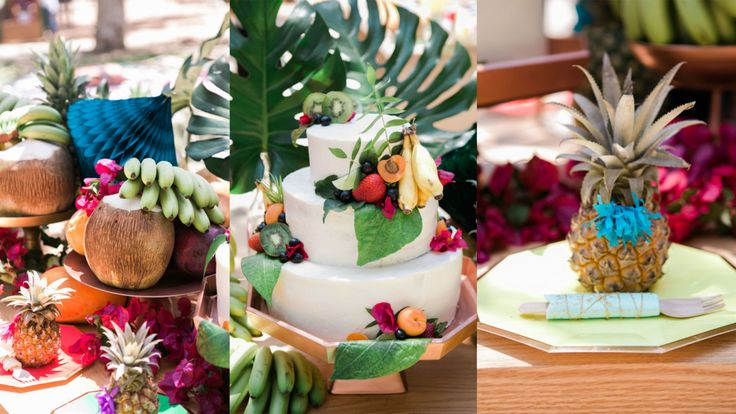 Tropical-Themed Birthday Party