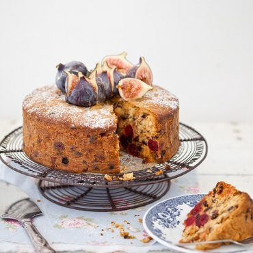 my favourite fruit and nut cake
