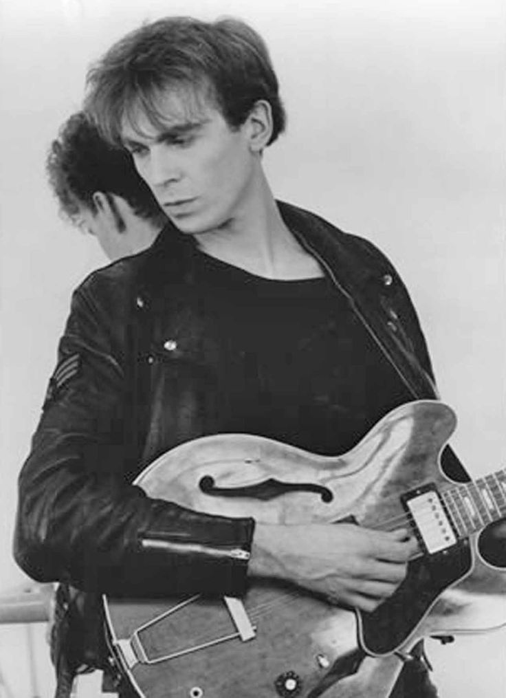 "Julian Cope - was in The Teardrop Explodes - had a cool song called ""World Shut Your Mouth"" that I liked"