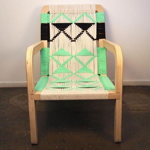 Macramé Palapa Lounge Chair by Pacific Wonderland