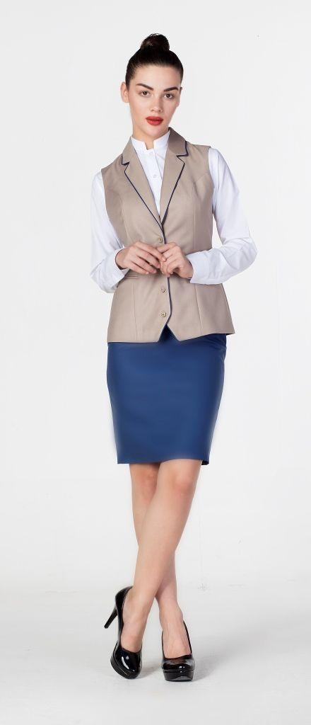 Receptionist Uniforms Work Attire Fashion Style