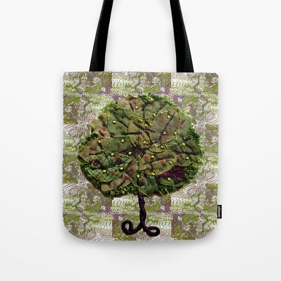 The tree of olives and figs Tote Bag