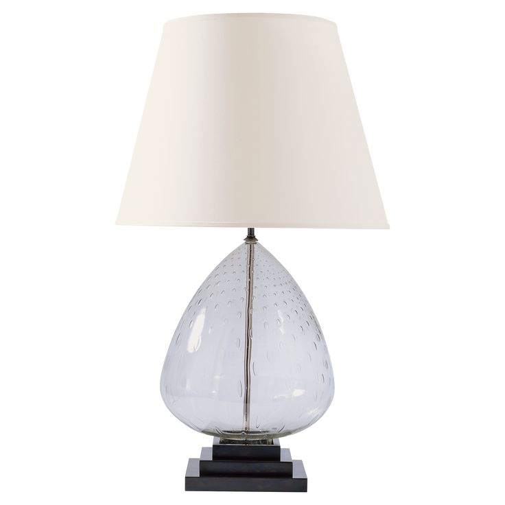 Mirabelle Seeded Glass Table Lamp By Mecox Gardens.