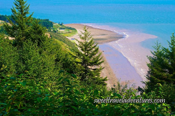 Long Beach Lookout in the Fundy Trail Parkway near Saint John, New Brunswick, Canada
