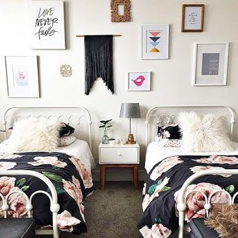 best 25 twin girl bedrooms ideas on pinterest twin girls rooms girls twin bedding and girls. Black Bedroom Furniture Sets. Home Design Ideas