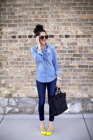 ストリート系にも着こなせるデニムシャツは優秀!格好良さ重視タイプの女の子におすすめのコーデ☆ 参考にしたいスタイル・ファッションのアイデア☆