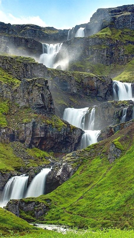 You do not have to look very hard to find waterfalls in Iceland. They are literally everywhere; while driving around the island we unexpectedly ran into amazing waterfalls we didn't even know were…More Famous Waterfalls, Beautiful Waterfalls, Beautiful Landscapes, Beautiful Scenery, Landscape Photography, Nature Photography, Travel Photography, Waterfalls Photography, Levitation Photography