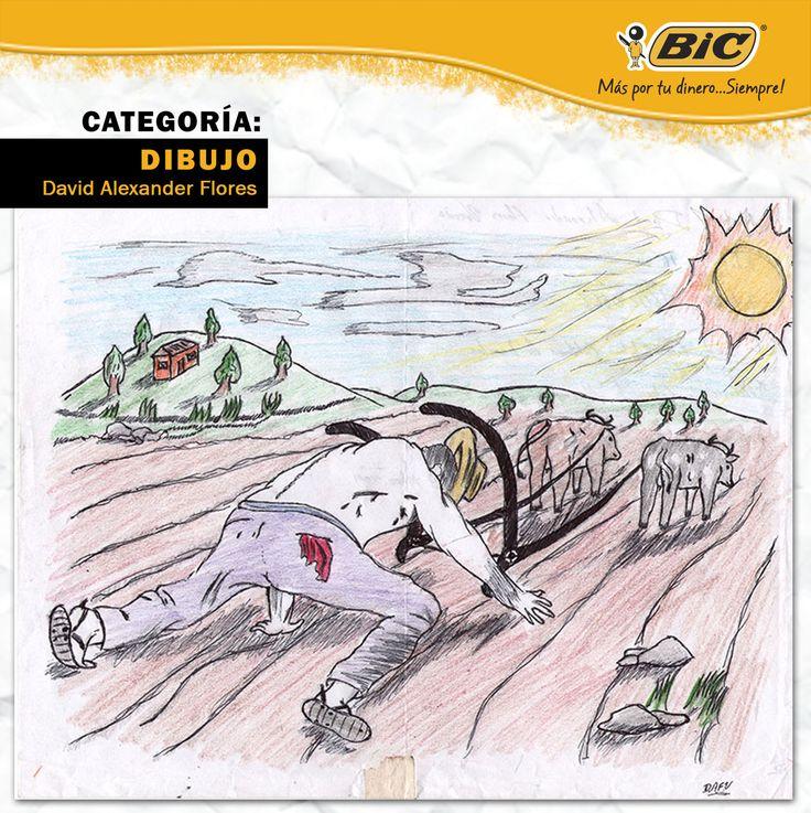 Concurso #ExprésateMás 2012 Categoría: Dibujo Autor: David Alexander Flores Tema: Mi País es Más...