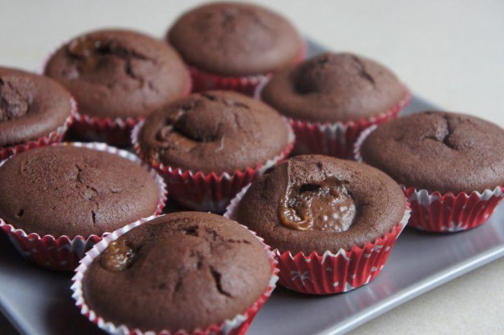 REZEPT: glutenfreie Toffifee Schoko-Muffins | Ein glutenfreier Blog