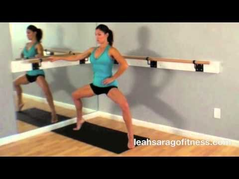▶ Ballet Body Workout by Leah Sarago - YouTube 10 min.
