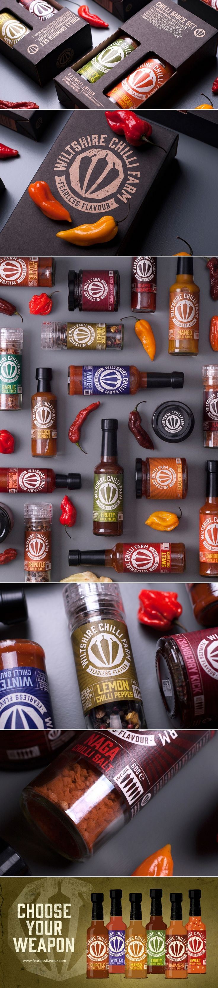 Wiltshire Chilli Farm — The Dieline | Packaging & Branding Design & Innovation News