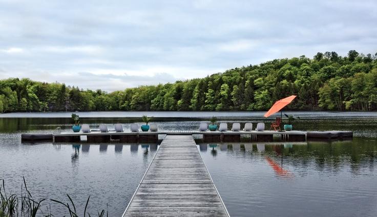 Détente sur le lac