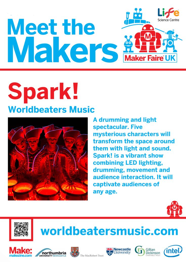 Spark! at Maker Faire UK 2014