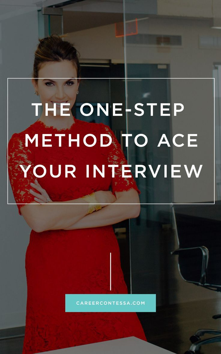 The 3 Step Method to Ace Your Job