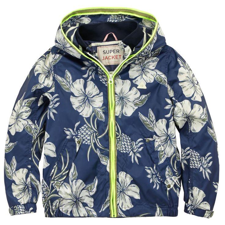 Waterproof printed jacket from Scotch & Soda- 106,00 €