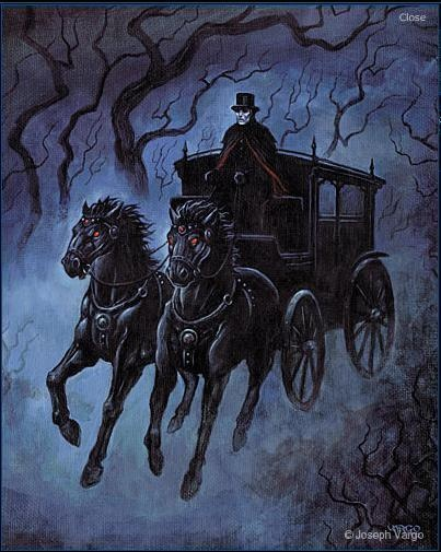 The Grimm Reaper's Ghostly Coach - Joseph Vargo