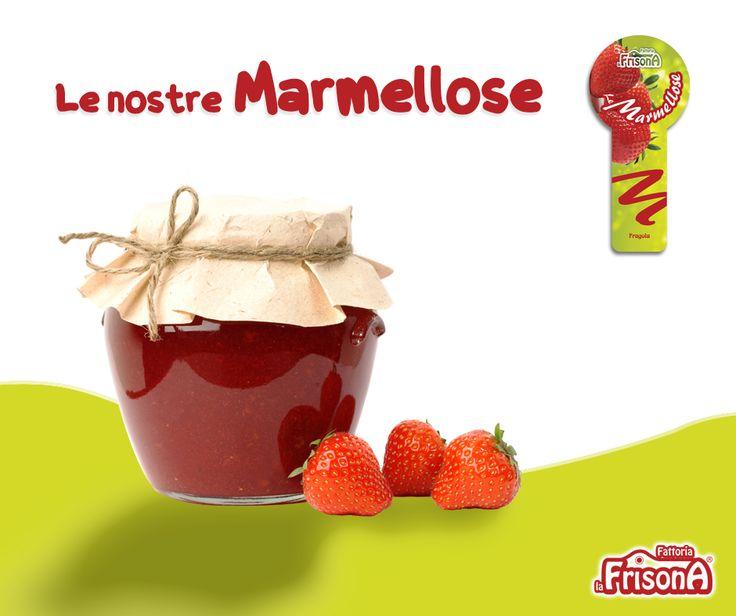 La nostra marmellosa alla fragola prodotta biologicamente con ingredienti di alta qualità, sana e gustosa per ogni tuo spuntino! http://www.fattorialafrisona.com/categoria-prodotto/marmellose/