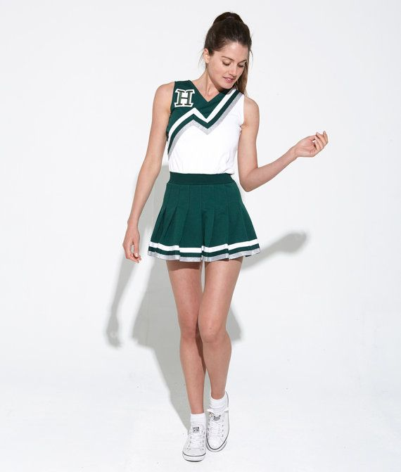 Vintage 90's Cheerleader Dress | Small | Made in USA