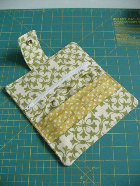 wallet pattern and instructions