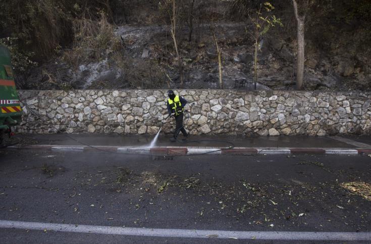 Ευχαριστίες από Ισραήλ προς την κυπριακή αποστολή για κατάσβεση πυρκαγιών