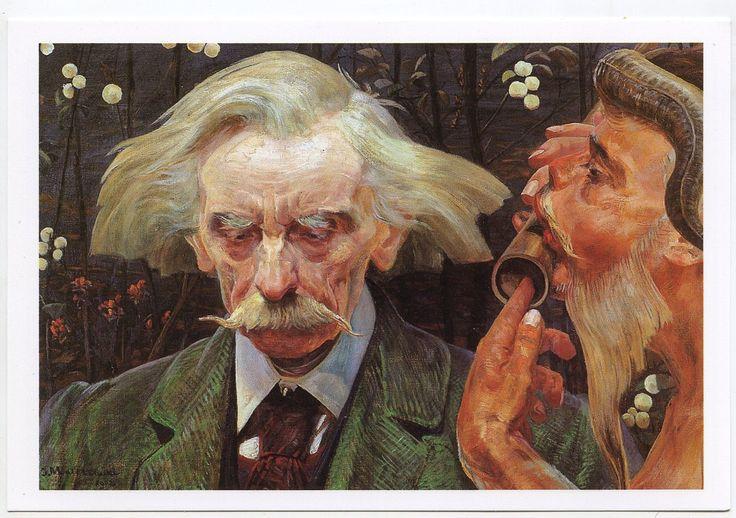"""Jacek Malczewski """"Nieznana nuta"""" 1902"""