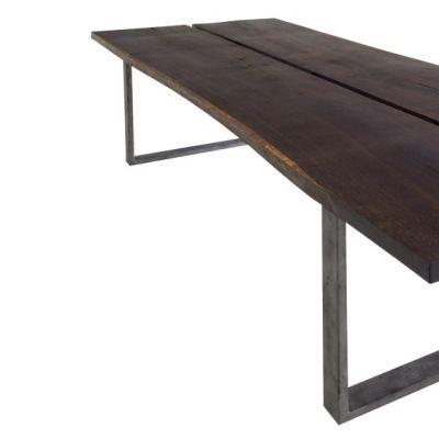 SM38-spisebord fra Skovby Møbelfabrik i træ med udvidelsesfunktion. L 200/300 x b 100 x h 73 cm
