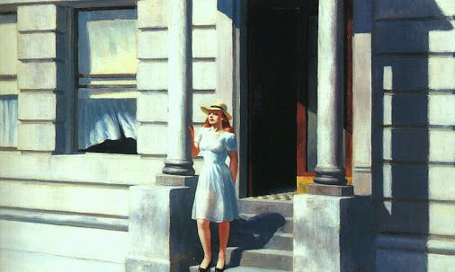 [cocobouche] really enjoyed Edward Hopper's (1882-1967) retrospective at the Grand Palais, an absolute must-see. The artist is mostly known for his very realistic oil paintings capturing instants of modern American life as he saw it.