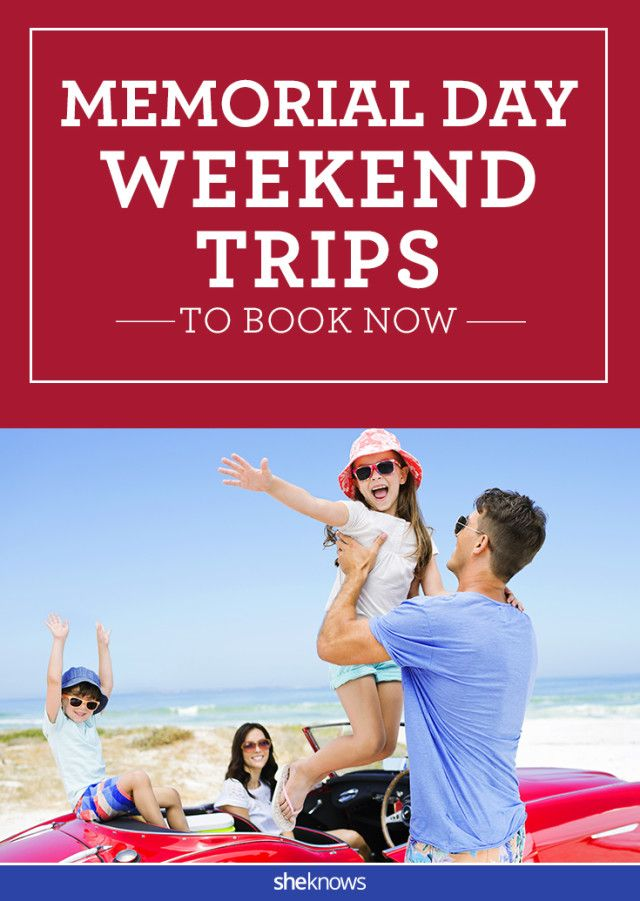 memorial weekend vacation packages