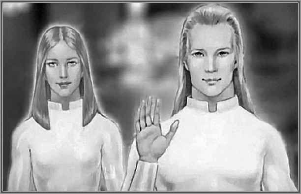 Appunti sugli uomini delle Pleiadi A quanto sembra i Pleiadiani avrebbero un aspetto umano, alti, biondi o bruni, e molto simile a noi terrestri. I Pleiadiani sembrano essere gli alieni maggiormente percepiti telepaticamente dai chann #pleiadiani #settesorelle #spencer