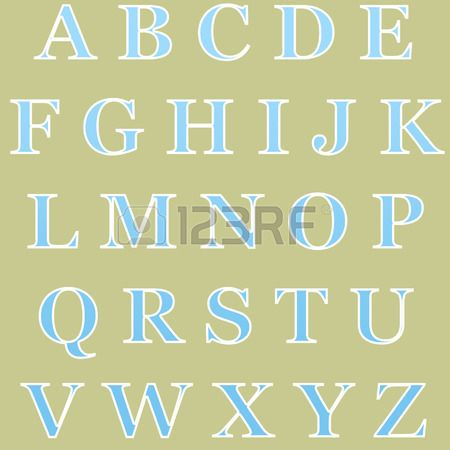 Picture Of Fun And Creative Color Alphabet With All The Letters Stock Photo Images Photography