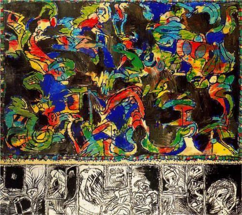 Mirror Workshop - Pierre Alechinsky