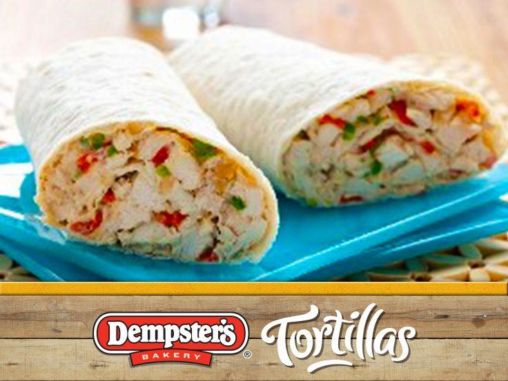Have a fun family night in with these scrumptious Thai Chicken Slaw Wraps. @Dempster's® Bakery #WrapItUp