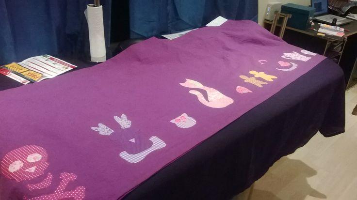 Customised table cloth