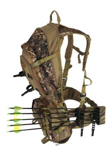 Archery Hunting Bow Back Pack Sling Realtree Camo Camping Arrows Outdoors NEW  | eBay