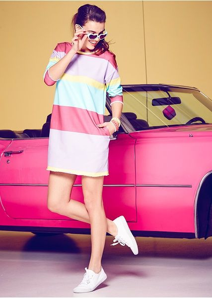 pastel dress #sweet #pastels #50's #style #inspiration