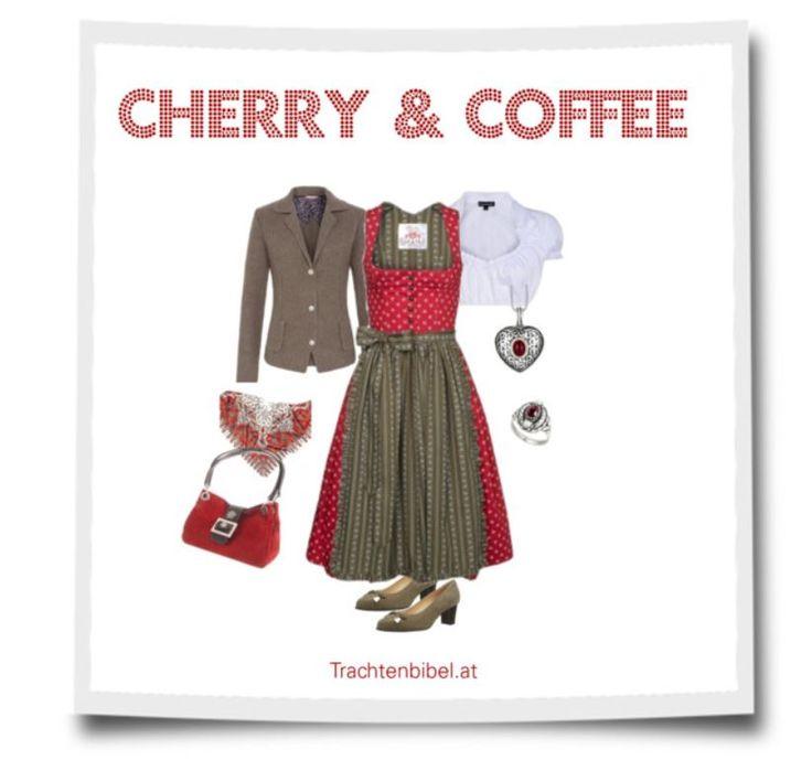Dirndl-Style Cherry & Coffe zum Nachshoppen.