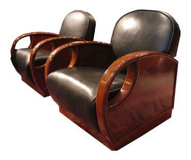Art Deco Club Chairs   Art Deco Chairs   Pinterest   Deco furniture   Furniture and Tub chair. Art Deco Club Chairs   Art Deco Chairs   Pinterest   Deco