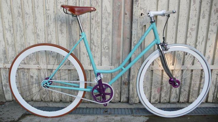 Venice Beach, fixed gear bicycle