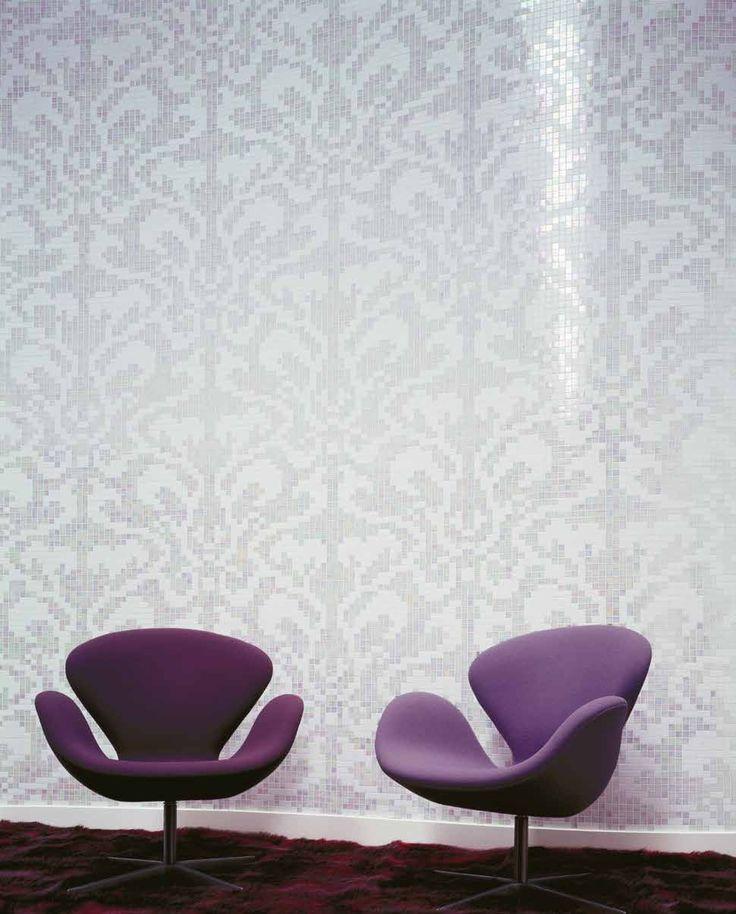 #Bisazza #Decori 2x2 cm Damasco Bianco | #Porcelain stoneware | on #bathroom39.com at 623 Euro/box | #mosaic #bathroom #kitchen