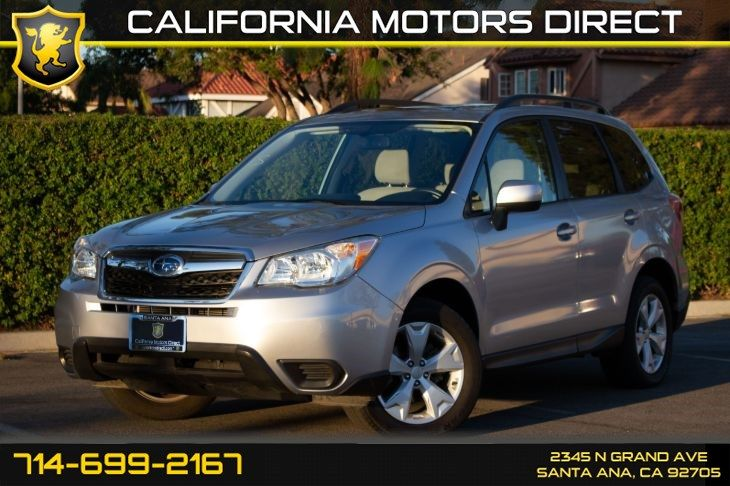 Used 2015 Subaru Forester 2 5i Premium In Santa Ana 2 Choice But 3000 More Subaru Forester Subaru Fuel Economy