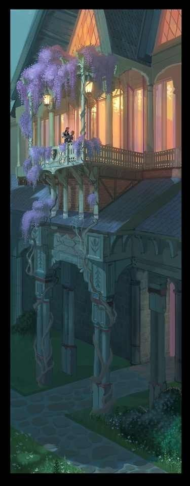 Frozen Concept Art. This is so pretty! I wish Hans didn't go all bipolar because…