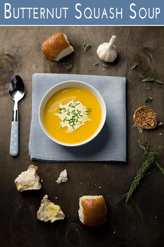 Easy #Butternut Squash #Soup - The perfect #recipe for a cold winter's night. South African cuisine at its best!