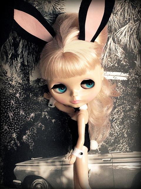 """Vintage Bunny"" by ellewoods2007, via Flickr"